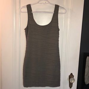 Olive mini dress